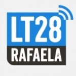 Logo da emissora Radio Rafaela LT28 1470 AM