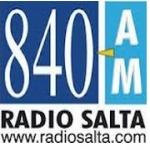 Logo da emissora Radio Salta 840 AM