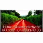 Logo da emissora Radio Senda Antigua 99.3 FM
