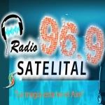 Logo da emissora Radio Satelital 96.9 FM
