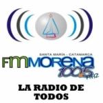 Logo da emissora Radio Morena 100.5 FM