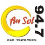 Logo da emissora Radio Sol 94.7 FM