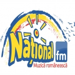 Logo da emissora National 91.7 FM