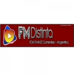 Logo da emissora Radio Distinta 106.9 FM