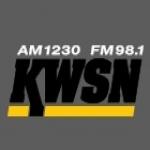 Logo da emissora KWSN 1230 AM