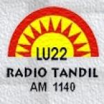 Logo da emissora Radio Tandil LU22 1140 AM