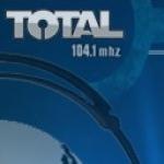 Logo da emissora Radio Total 104.1 FM