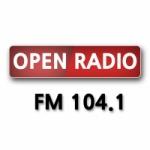 Logo da emissora Radio Open 104.1 FM