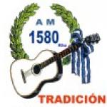 Logo da emissora Radio Tradici�n 1580 AM
