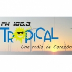 Logo da emissora Radio Tropical 106.3 FM