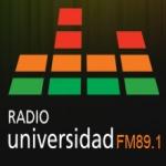 Logo da emissora Radio Universidad 89.1 FM
