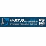 Logo da emissora Radio Universidad 97.9 FM
