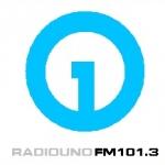 Logo da emissora Radio Uno 101.3 FM