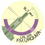 Logo da emissora Radio Urquiza 91.7 FM