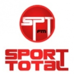 Logo da emissora Sport Total 105.8 FM