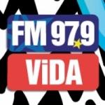 Logo da emissora Radio Vida 97.9 FM