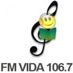 Logo da emissora Radio Vida 106.7 FM