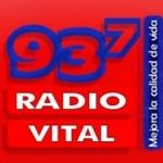 Logo da emissora Radio Vital 93.7 FM