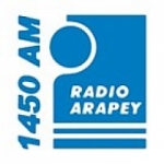Logo da emissora Radio Arapey 1450 AM