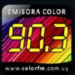 Logo da emissora Radio Color 90.3 FM