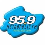 Logo da emissora Radio Metropolis 95.9 FM