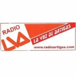 Logo da emissora Radio La Voz de Artigas 1180 AM