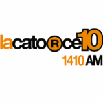 Logo da emissora Radio LaCatorze10 1410 AM