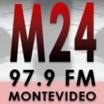 Logo da emissora Radio M24 97.9 FM