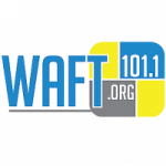 Logo da emissora Radio WAFT 101.1 FM