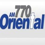 Logo da emissora Radio Oriental 770 AM