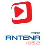 Logo da emissora Radio Antena 105.2 FM