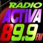 Logo da emissora Radio Activa 89.9 FM