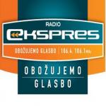Logo da emissora Radio Ekspres 106.4 FM
