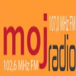Logo da emissora Radio Moj Radio 107 FM