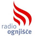 Logo da emissora Radio Ognjisce 105.5 FM