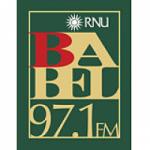 Logo da emissora Radio Sodre Babel 97.1 FM
