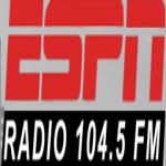 Logo da emissora WTMM 104.5 FM