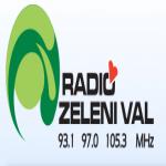 Logo da emissora Radio Zeleni 93.1 FM