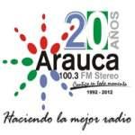 Logo da emissora Radio Arauca Stereo 100.3 FM