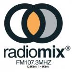 Logo da emissora Mix 107.3 FM