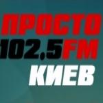 Logo da emissora Prosto Radio Kiev 102.5 FM