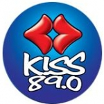 Logo da emissora Radio Kiss 89.0 FM