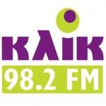 Logo da emissora Radio Klik 98.2 FM