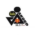 Logo da emissora Akord 103.5 FM