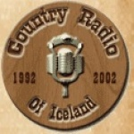 Logo da emissora Country Radio Of Iceland 96.7 FM