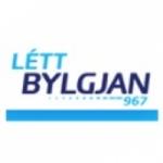 Logo da emissora Létt Bylgjan 96.7 FM