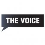 Logo da emissora Voice 98.7 FM