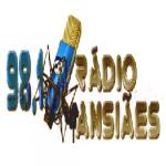 Logo da emissora Rádio Ansiães 98.1 FM