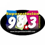 Logo da emissora Radio Superestación 98.3 FM