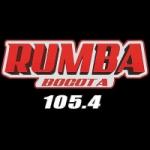 Logo da emissora Radio Rumba 105.4 FM